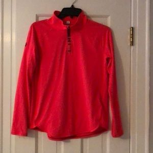 Under Armour youth XL 1/4 zip top